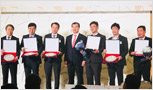 한국프랜차이즈산업협회 2018 송년회 참석