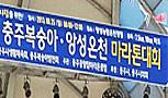 제9회 충주복숭아·앙선온천 마라톤대회