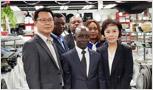 콩고민주공화국 농업개발부 장관 주방뱅크 방문