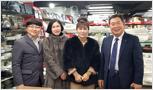 (주)티오피퍼니처 '황은주 대표님' (주)주방뱅크 방문