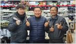 Bento Revolving Sushi 조나단킴, 오리온코스턴 홍종하 상무님 주방뱅크 방문