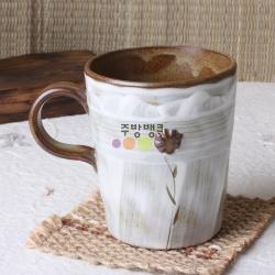 상감수빈한송이머그컵