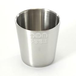 이중컵(무광)/스텐컵/물컵/식당컵
