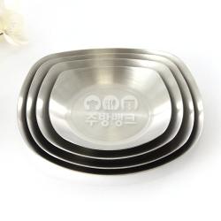사각쿠프/스텐찬기/찬그릇/앞접시