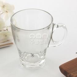 유리머그잔/유리컵/커피잔(335ml)