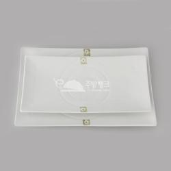 직사각모듬접시(화이트고백자)