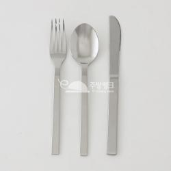 심플양식기(포크/스푼/나이프)10개묶음