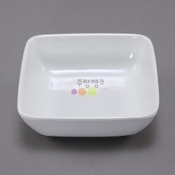 미색정사각낮은탕기5호