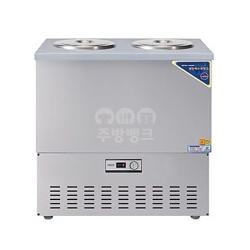 3말쌍통1라인육수냉장고(스텐,WSR-303)