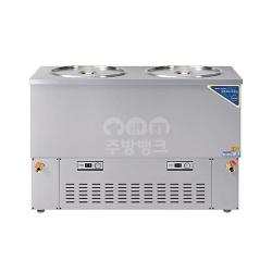 5말쌍통2라인육수냉장고(스텐,WSR-520)
