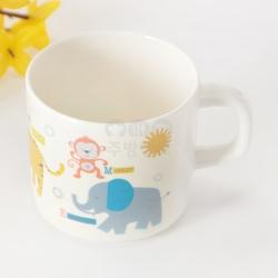 코끼리한손잡이컵/어린이컵