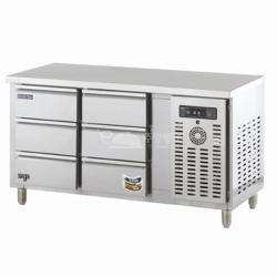 1500간냉식서랍냉장테이블(맞춤주문형)