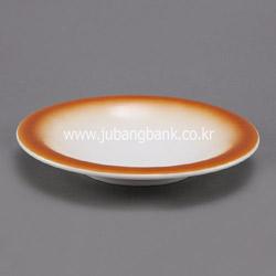 원형 도자기 스파게티 접시 (색상 선택)