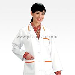의사까운/영양사까운(여/흰색주황라인)(104-01)