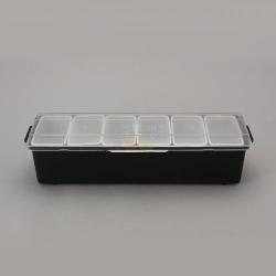 재료보관통(6구) 백주부양념통