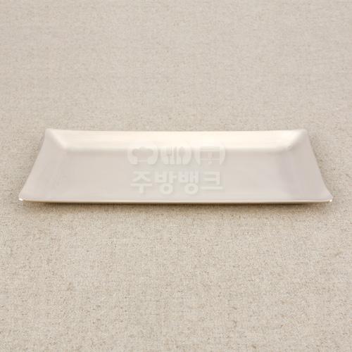 방짜유기 직사각접시