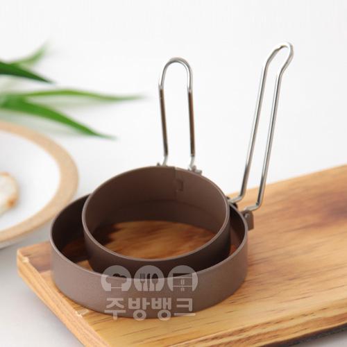 논스틱코팅 계란틀 원형