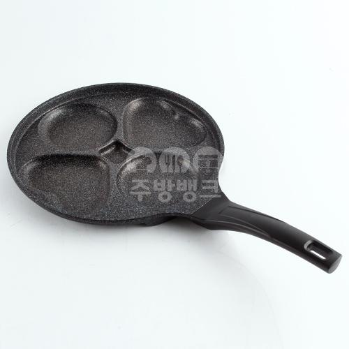 윤스쿡 브런치 에그팬 28cm 하트,원형모양
