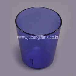 PC컵(400P/청색)/단체급식용컵