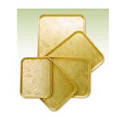 화이바FRP 쟁반(금색)(100장 묶음판매)