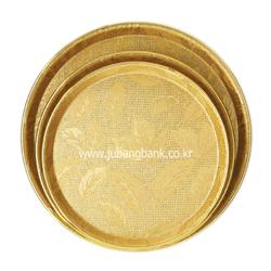 화이바FRP 쟁반(금색)(100장묶음판매)
