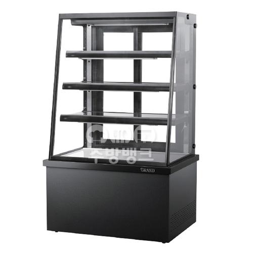 높은 제과쇼케이스냉장고 사선 (H:1500mm)