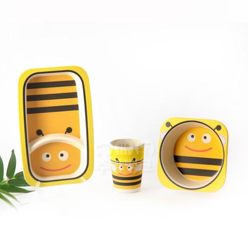 에코그린 유아용식기set(꿀벌)
