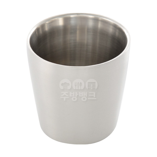 이중 스텐 물컵(10개묶음)