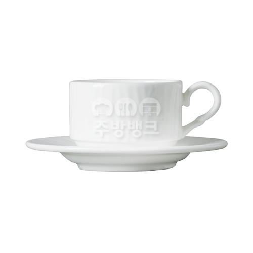 엠보 커피잔