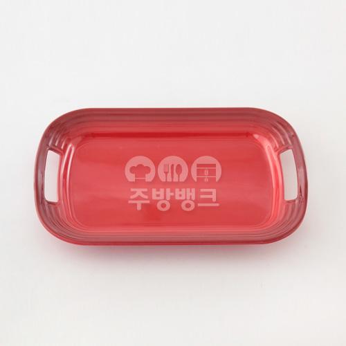 레드벨벳 주름양손쟁반(7365)