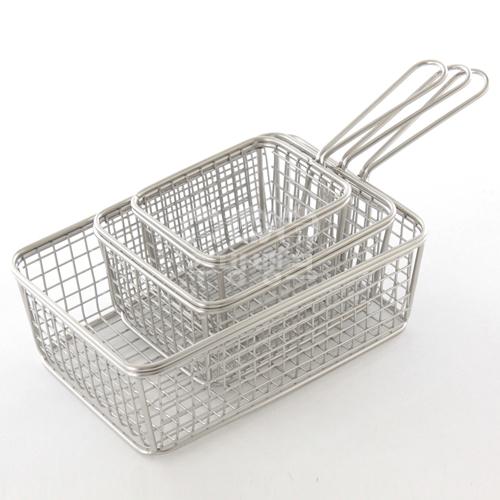미니 튀김 바스켓 그릇