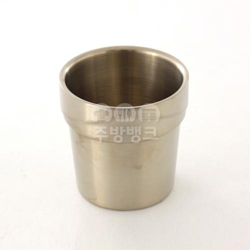 티타늄 웨이브 이중컵 10개묶음