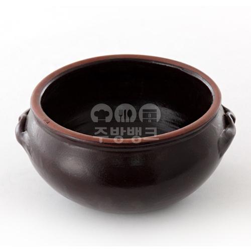 옹기 칼국수 그릇