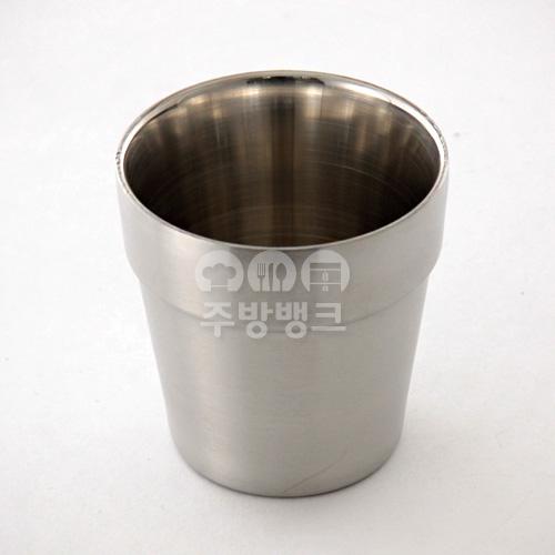 샤틴 이중 물컵 굽형
