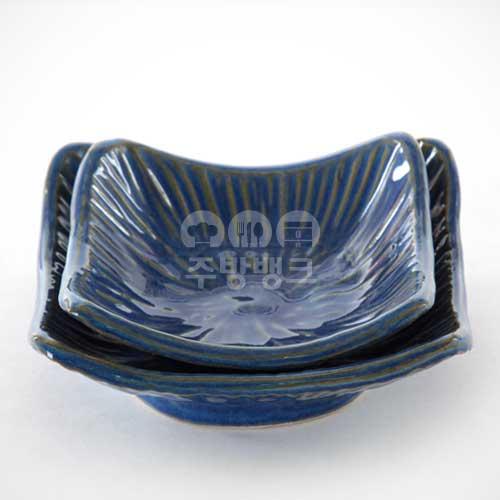블루 사각 쿠프