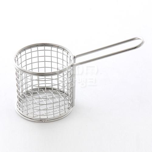 튀김 바스켓 미니 원형