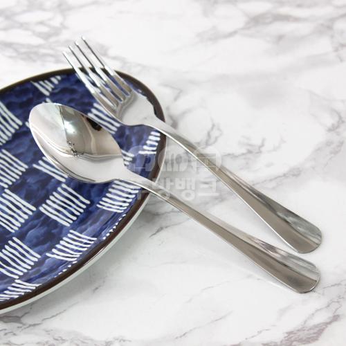 삼각 스텐 양식기