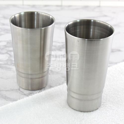 스텐 이중 음료컵