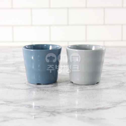 그레이 청블루 토네이도 컵