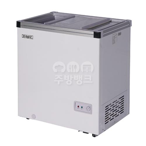 유리 냉동 쇼케이스 냉동고 140L