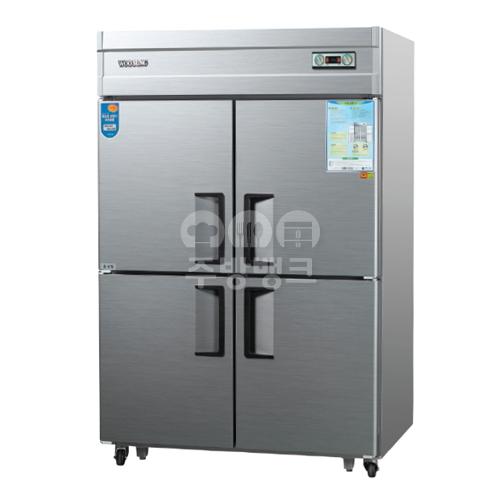 45박스냉동냉장고1/4냉동(내부스텐,WSM-1243RF)