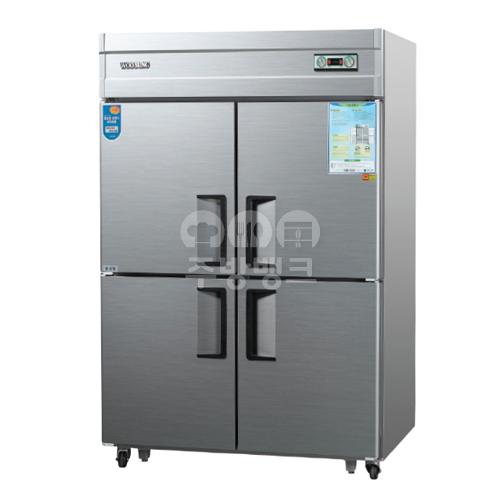 45박스수직냉동냉장고1/2냉동(WSM-1242HRF,올스텐)