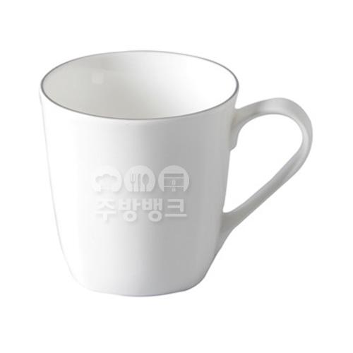 노블실버 사각머그컵